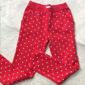 Children's Place Red/White Polka Dot Pants